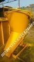 Material Controlled Tower Crane Cow Nose Concrete Bucket 1.000 M3