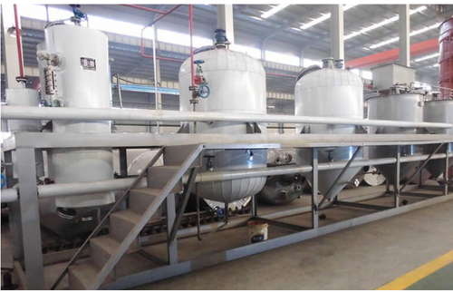 Automatic Soybean Oil Refinery Machine, Capacity: 5-20 ton/day