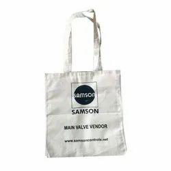 Eco Bags Loop Handle Canvas Printed Bag, Capacity: 4-5 kg