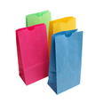 Sos Kraft Grocery Bags - 14 Colors & 6 Sizes