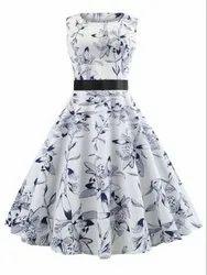 Chetna Organic Cotton Ladies Party Wear Dress