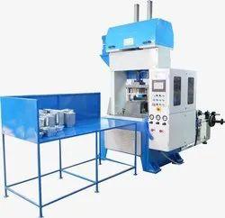 SSP Semi-automatic Aluminium Foil Container Machine Version-1, Max 4 Unit Per Day, Production Capacity: 20 -25 Per Miniute