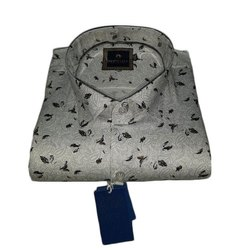 Westerland Full Sleeve Mens Printed Cotton Shirt