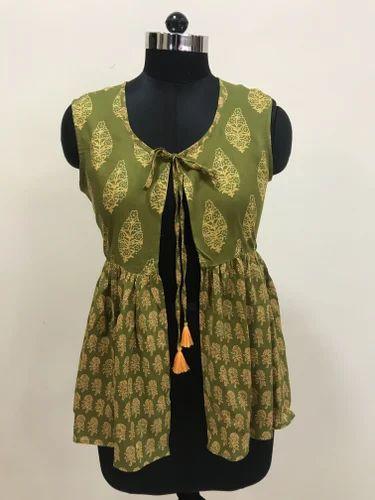 Lavanya Rayon Traditional Print Jacket