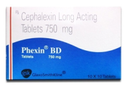 Cepalexin Long Acting Tablets 750 mg