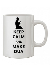 White Coffee Mug (Prayer) w04