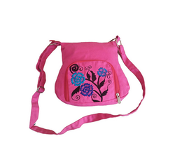 Fly Angels Women's Sling Bag With Embroidery