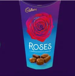 Cadbury Roses Chocolate, Packaging Type: Packet