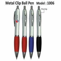 Metal Clip Ball Pen 1006