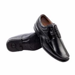 Horex Mens Black Formal Shoes