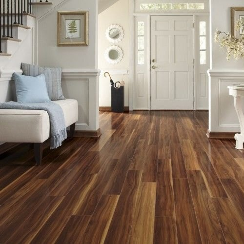 Wooden Laminate Flooring, Thickness: 5-10 Mm