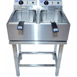 Double Deep Fat Fryer Floor Model Electric