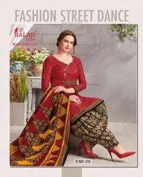 Ladies Printed Regular Ware Dress Material