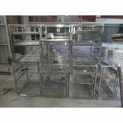 SS Commercial Kitchen Trolley