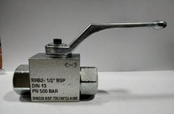 KHB hydraulic Ball Valve