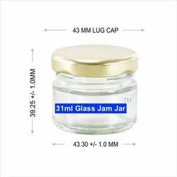 31ml Glass Jam Jar