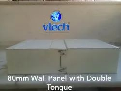 PUF Panel for Wall with Double Tongue 80mm