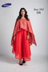 Silk Modern Kurti