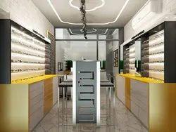 Optical Shop Design Services, Showroom Interior