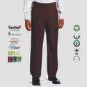 Oeko Tex Certified Mens Pleated Trousers