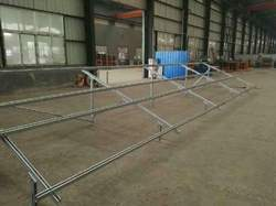 Galvanized Solar Panel Mounting Structure