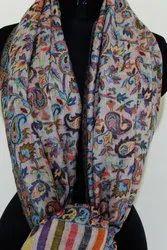Kani Soft Wool Printed Stole