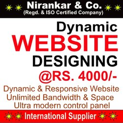 Dynamic Web Designing, With Online Support