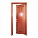 Polished Aluminium Bathroom Door