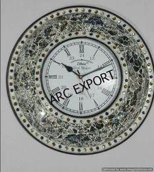 Arc Export White Clock, Size: 50 Cm