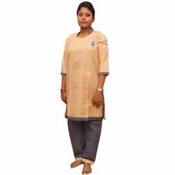 Size Apparel Summer Housekeeping Uniform