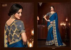 Motif & More Vol-3 Series 10301-10318 Stylish Party Wear Fancy Saree