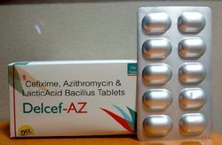 Cefixime, Azithromycin And Lactic Acid Bacillus Tablets