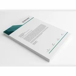 80 GSM JK Bond Letter Head With Pad ( 210 X 280 MM)