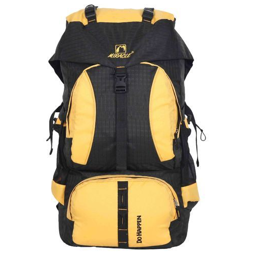 129bfb01b8 Miracle Yellow And Black Designer Rucksack Bag