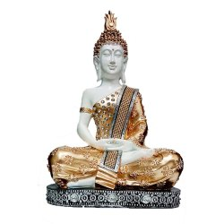 Polyresin Gautam Buddha Statue
