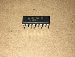 CMOS  CD4520BE TI