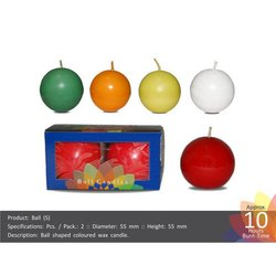 Small Round Ball Shape Candle