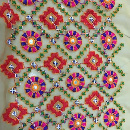 39a753c813b5d Suasttik Fabriics Embroidered Designer Mirror Work Blouse Fabrics ...