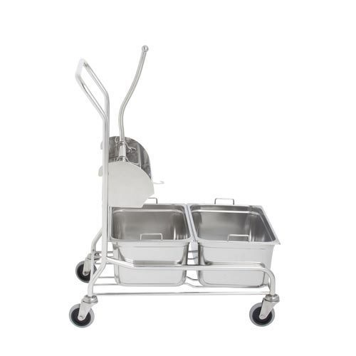 25 Kg Commercial Washing Machine At Rs 150000 Piece: S.K. SS Mopping Trolley, Rs 12000 /piece, S.K. Enterprises