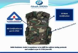 BIS Certification for Bullet Resistance Jacket