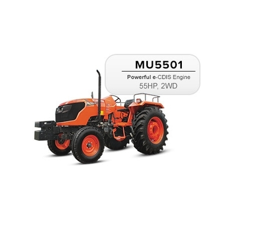 Kubota MU5501 - 2WD 55HP Tractor - Kubota Agricultural Machinery