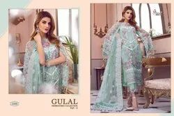 Unstiched Georgette Pakistani Embroidered Suits