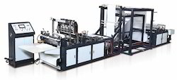 Automatic Box Type Non Woven Bag Making Machine with Handle