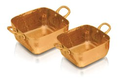 Stainless Steel Gold Platted Baskets