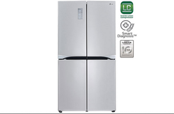 Grey 725 Litres French Door Refrigerator