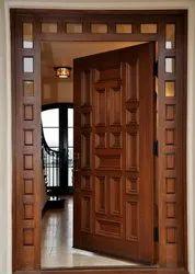Sagwan Wooden Single Doors