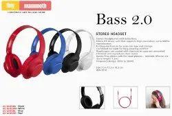 Multicolor Wireless STEREO HEADSET