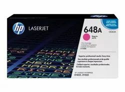 HP 648A Magenta Original LaserJet Toner Cartridge (CE263A)