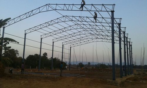 Pipe Truss Shed Fabrications Truss Fabrication Works