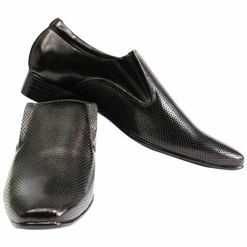 Black Fancy Mens Formal Shoes, Rs 1200